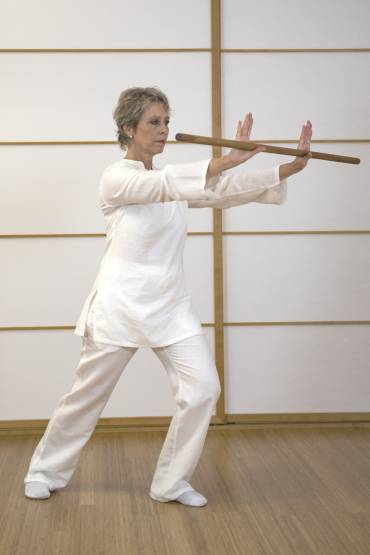 Gesundheits-QiGong Taiji Fitnessstab